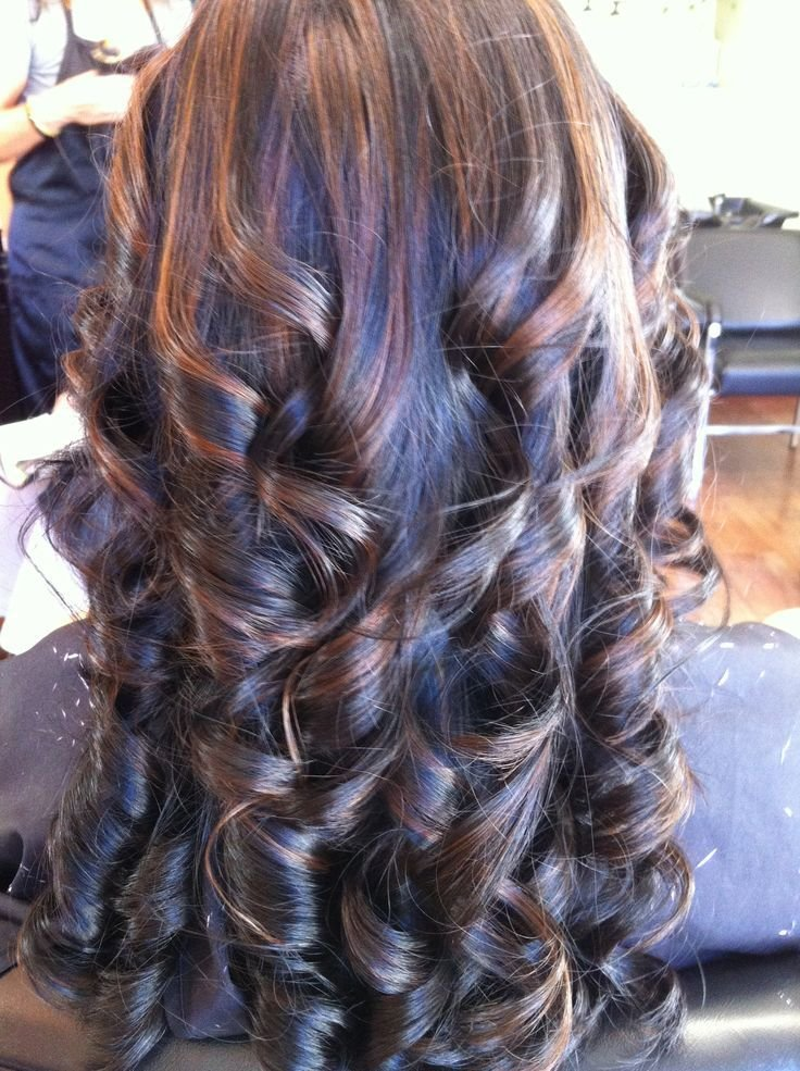 The Best Medium Caramel Highlights With My Black Hair My New Fall Pictures