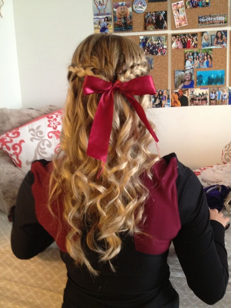 The Best 25 Best Ideas About Cheerleader Hairstyles On Pinterest Pictures