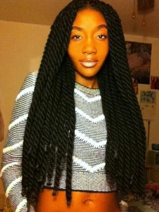The Best Thick Long K*Nky Twists Booming Braids Pinterest Pictures