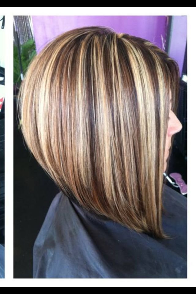 The Best A Line Bob Not Stacked Love This Stacked Bob Hairstyle Pictures