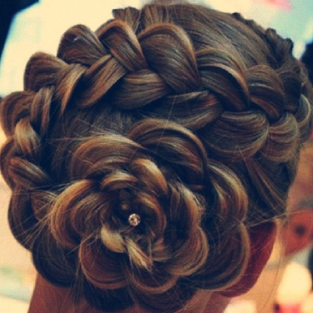 The Best Dutch Pancake Braided Flower Bun Winter Braids Pictures