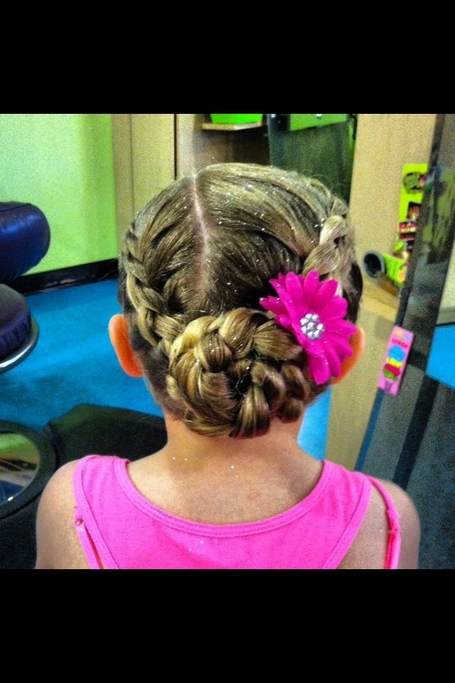 The Best Dance Recital Hair Style Hair Styles Pinterest Dance Pictures
