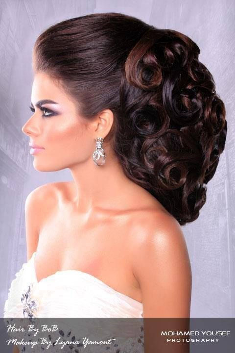 The Best Arabic Hairstyle Arabic Hairstyles Pinterest Beautiful Style And Updo Pictures