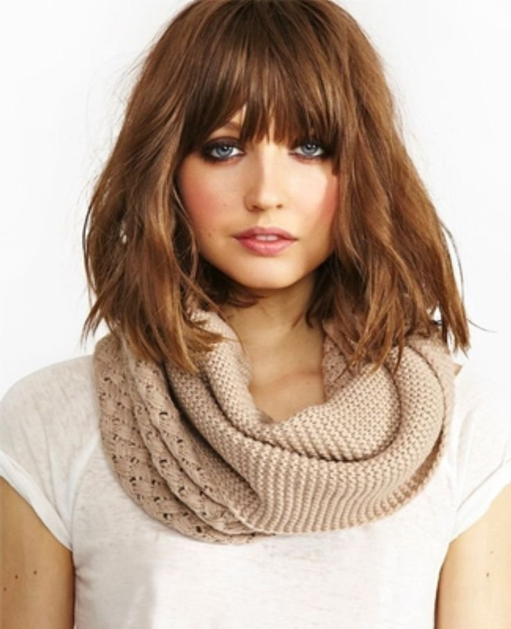 The Best 25 Best Ideas About Medium Hairstyles With Bangs On Pinterest Medium Bob With Bangs Pictures