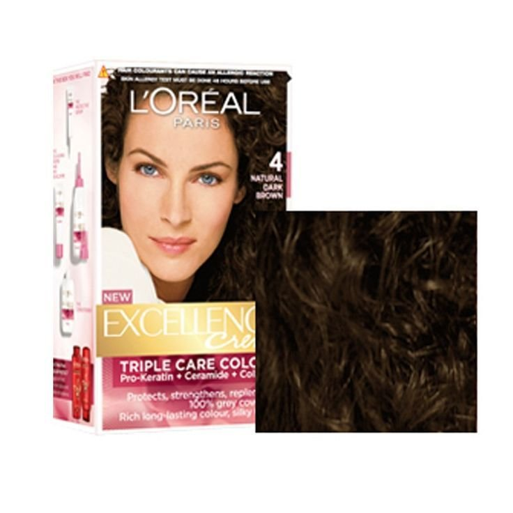 The Best Loreal Paris Excellence Creme Hair Color 4 Natural Dark Pictures