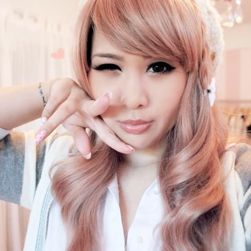 The Best Peachy Pink Champagne Hair Color Amazing Fall Hair Pictures