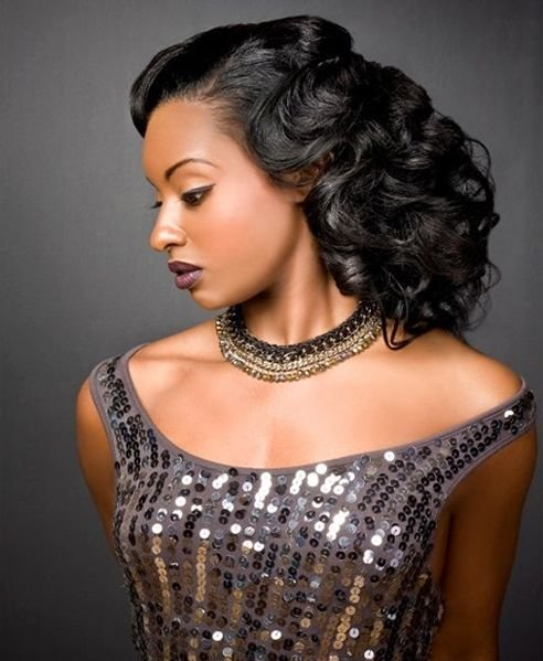 The Best 1057 Best Images About Prom Hairstyles For Black Girls On Pictures