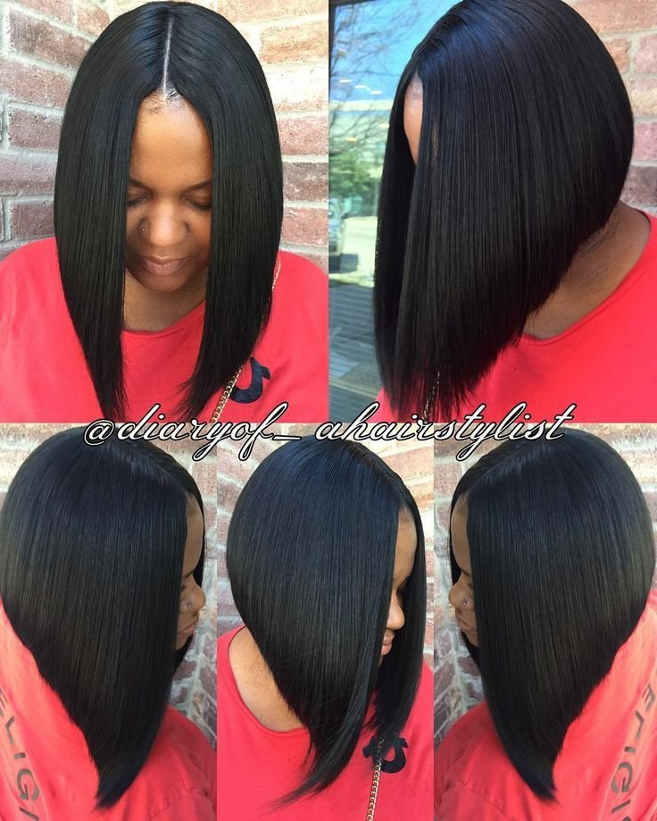 The Best Invisible Part Quick Weave Bob Razored To Perfection Pictures
