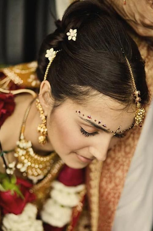 The Best 1000 Ideas About Indian Wedding Hairstyles On Pinterest Pictures