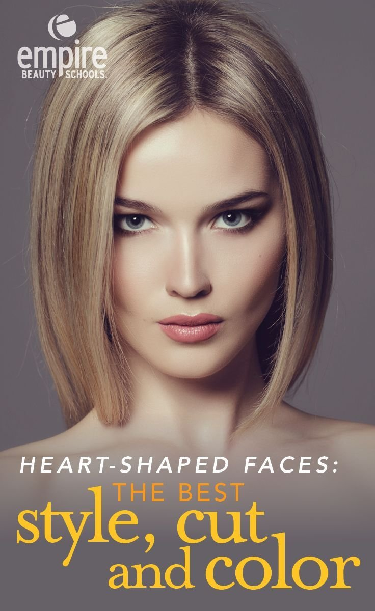 The Best Find The Perfect Hairstyle For Your Heart Shaped Face Pictures