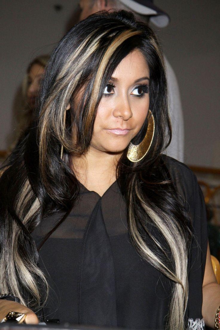 The Best Black Hair With Blonde Highlights Black Hair Blonde Pictures