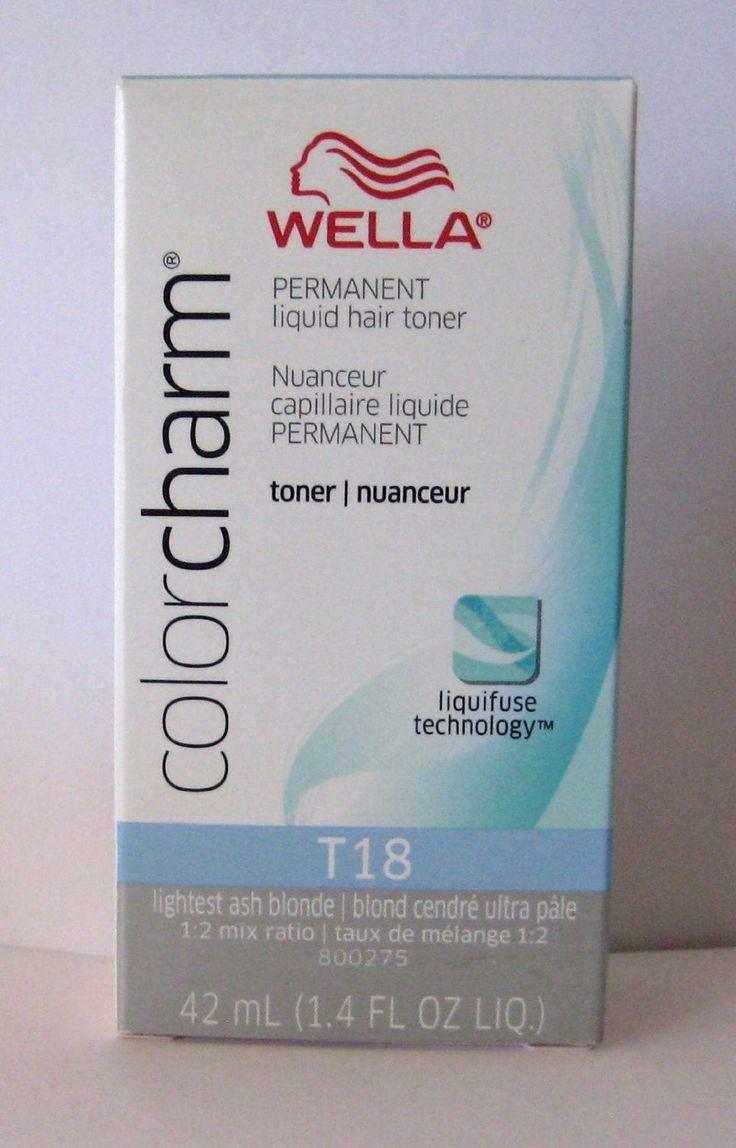 The Best Wella Color Charm T18 White Lady 1 4Oz Never Used Pictures