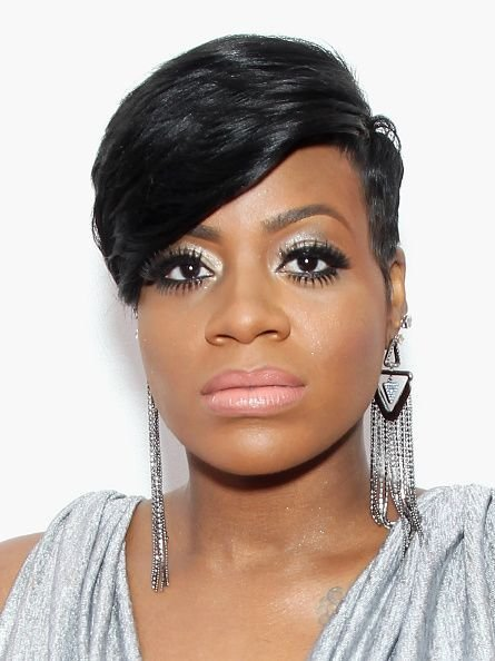 The Best Fantasia Barrino Short Hair With Side Fringe Google Pictures