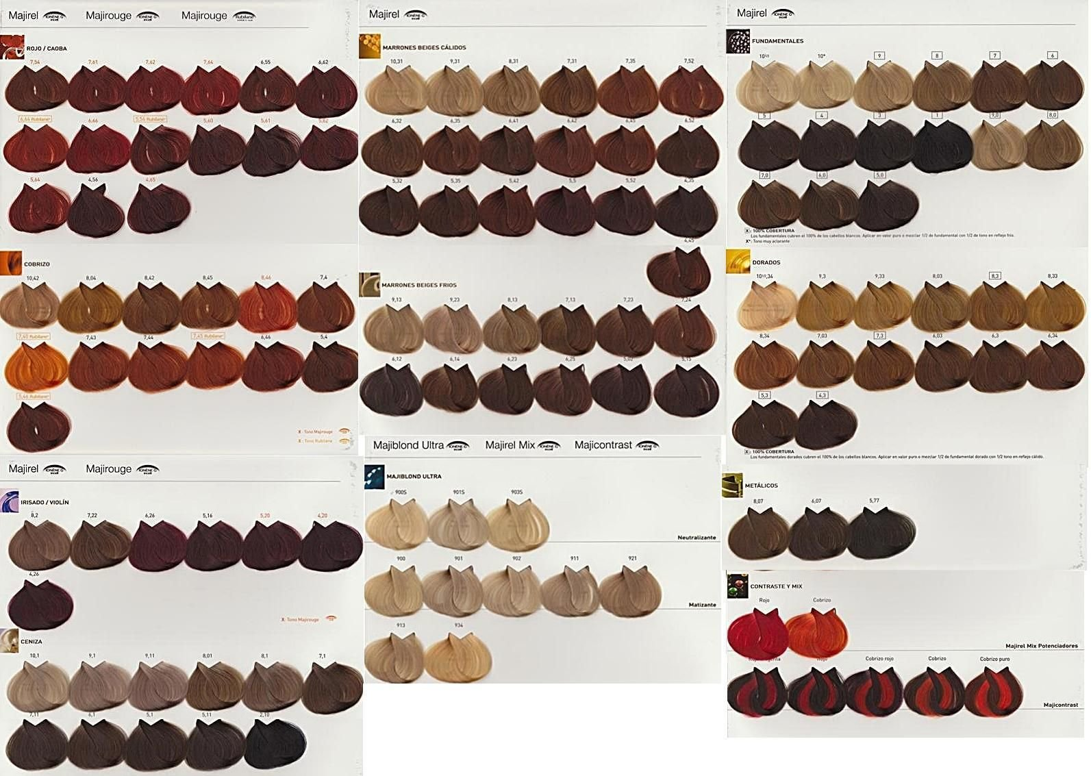 The Best Inoa Color 7 Hair Color Formulas With Inoa Pinterest Pictures