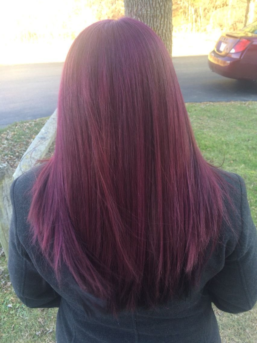 The Best New Fun Hair Color Age Beautiful Dark Plum Brown 4V Pictures