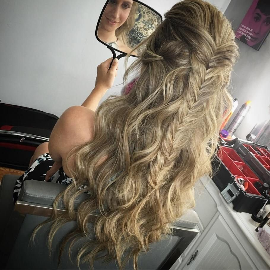 The Best 31 Gorgeous Half Up Half Down Hairstyles Glamour Pictures