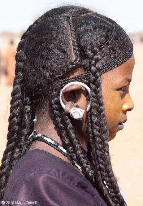 The Best A Saharan Tuareg Hairstyle Common Among Young Ancient Pictures
