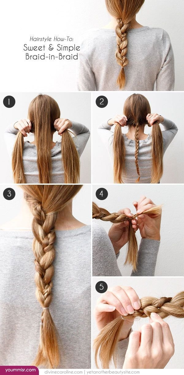 The Best Quick And Easy Hairstyles 2015 2016 Step By Step Http Pictures