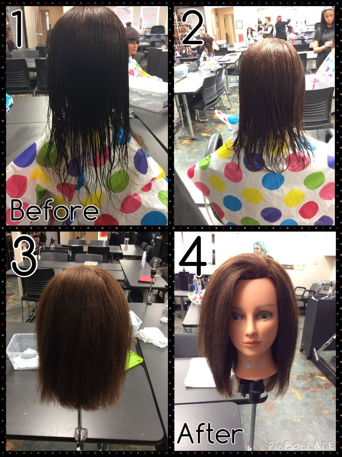 The Best 45 Degree Haircut With Bl*W Dry Styling Pictures