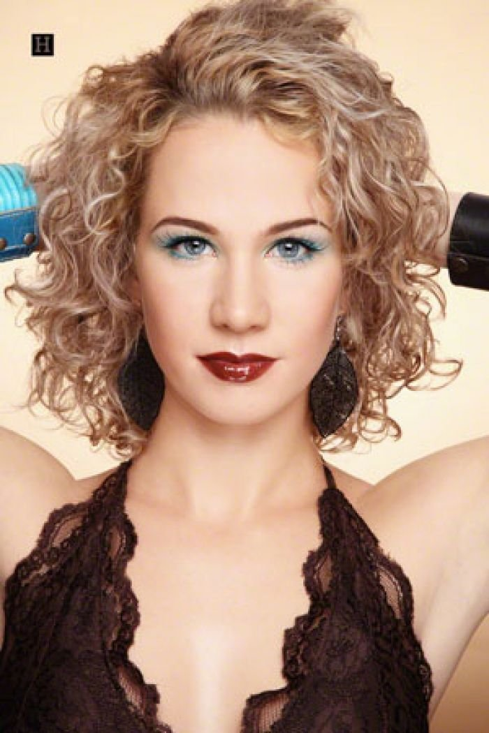 The Best With Medium Length Layered Spiral Curly Hairstyles Very Pictures