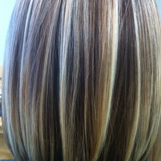 The Best Pics Of Foiled Hair Beautiful Foiled Color Hair Pictures