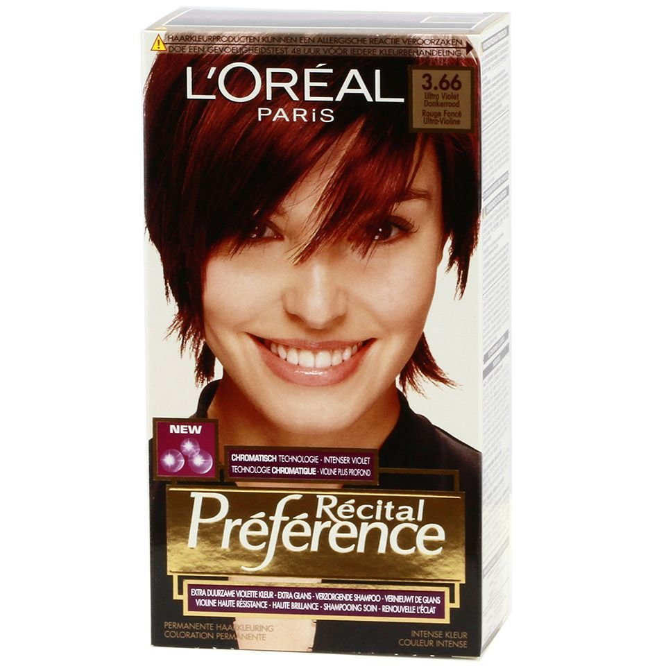 The Best L Oreal Recital Preference 3 66 Ultra Violet Dark Red Pictures