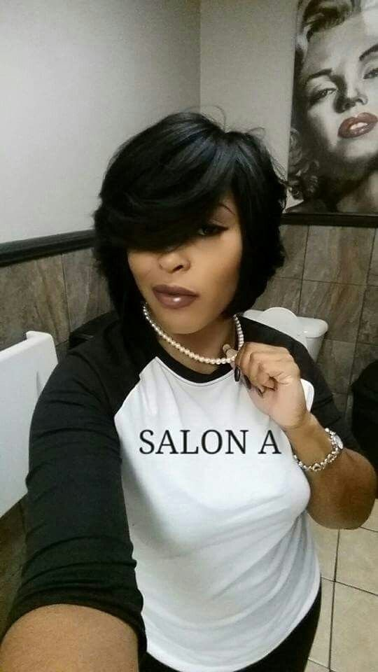 The Best Feathered Bob Black Hairstyles Pinterest Feathered Pictures