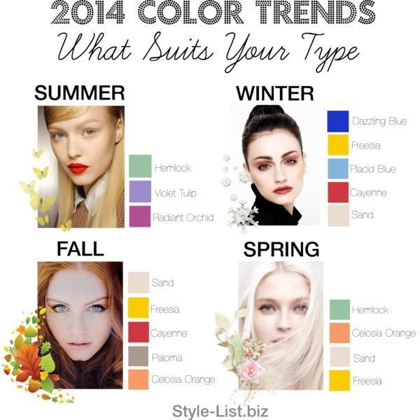 The Best 2014 Color Trends By Http Style List Biz What Suits Pictures