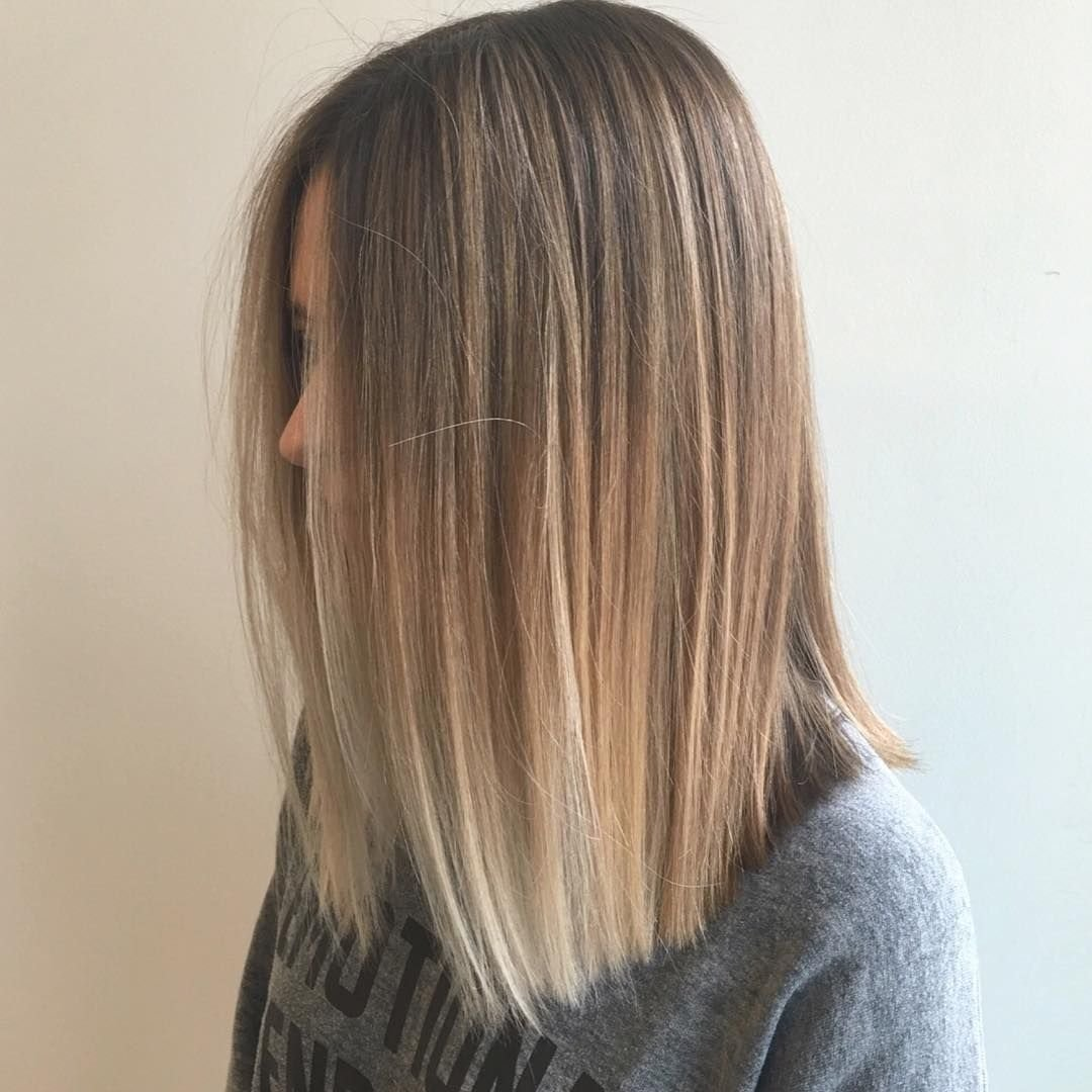 The Best 25 Alluring Straight Hairstyles For 2018 Short Medium Long Hair Balayage Instagram And Pictures