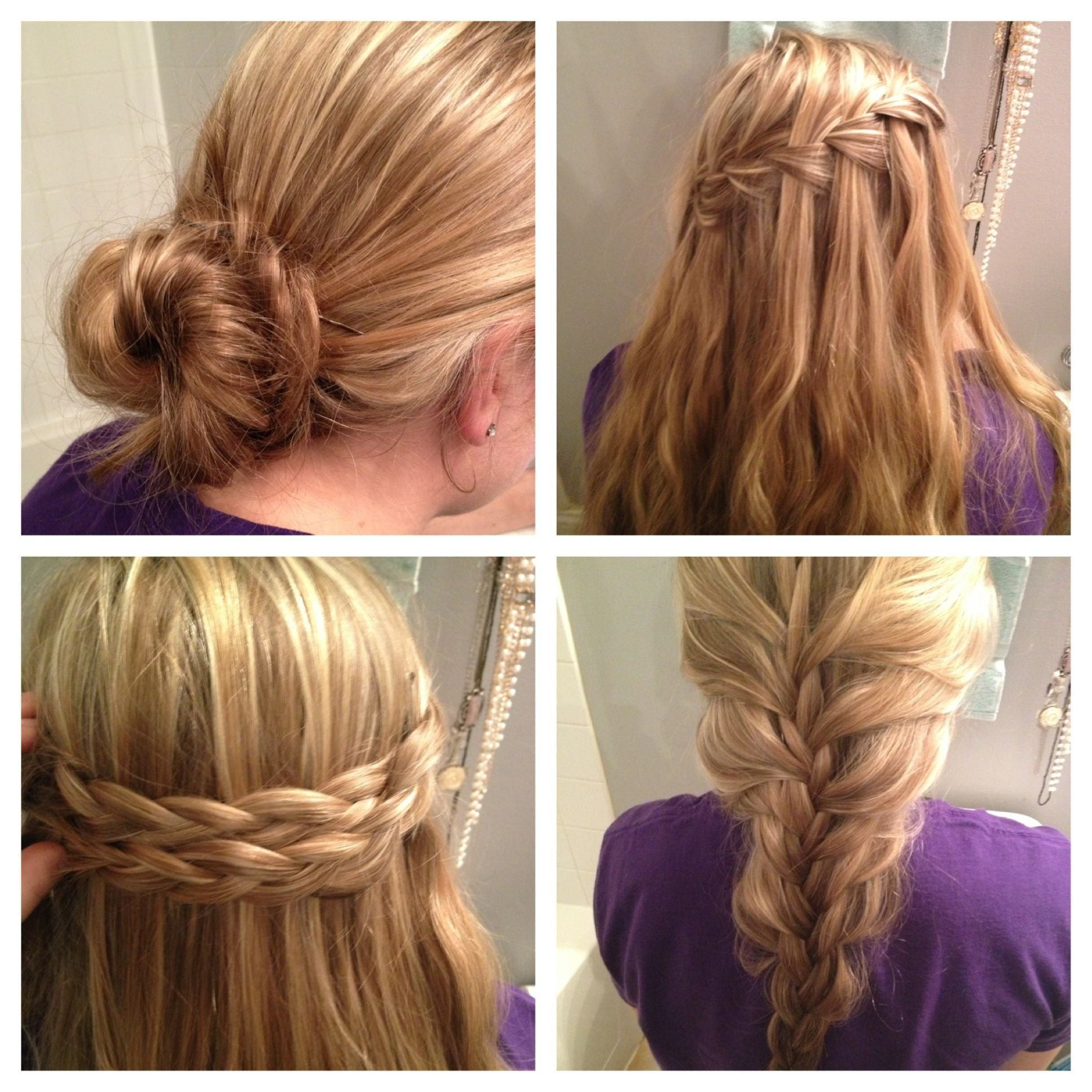 The Best Easy No Heat Hairstyles Month Without Heat Pinterest Pictures