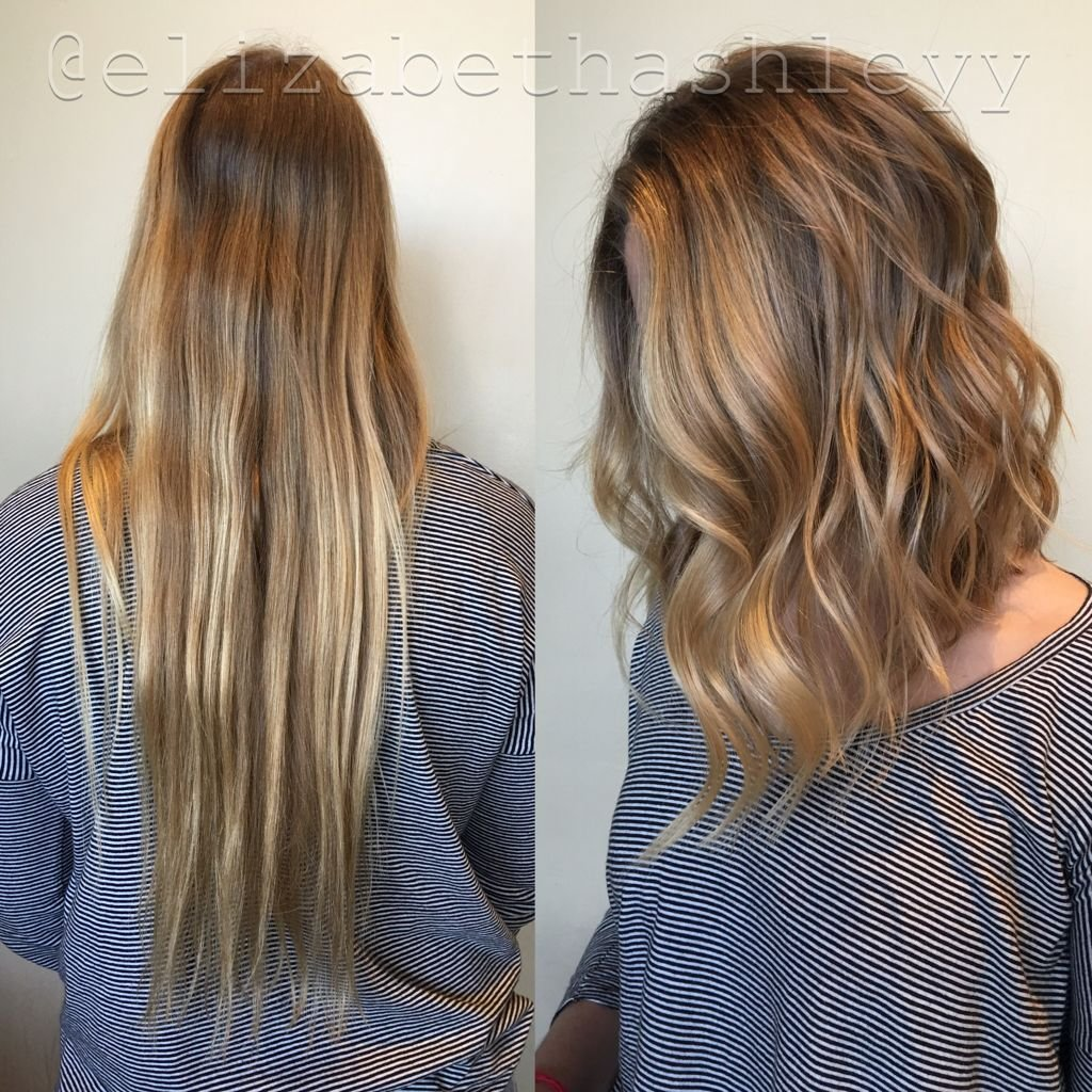 The Best Lob Transformation Tuesday A Line Cut Bescene Pictures