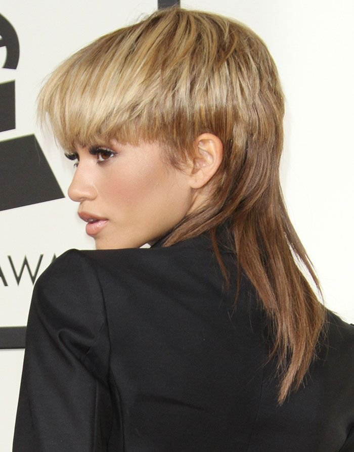 The Best Zendaya Teams Her New Mullet Hairstyle With Dsquare2 Pictures