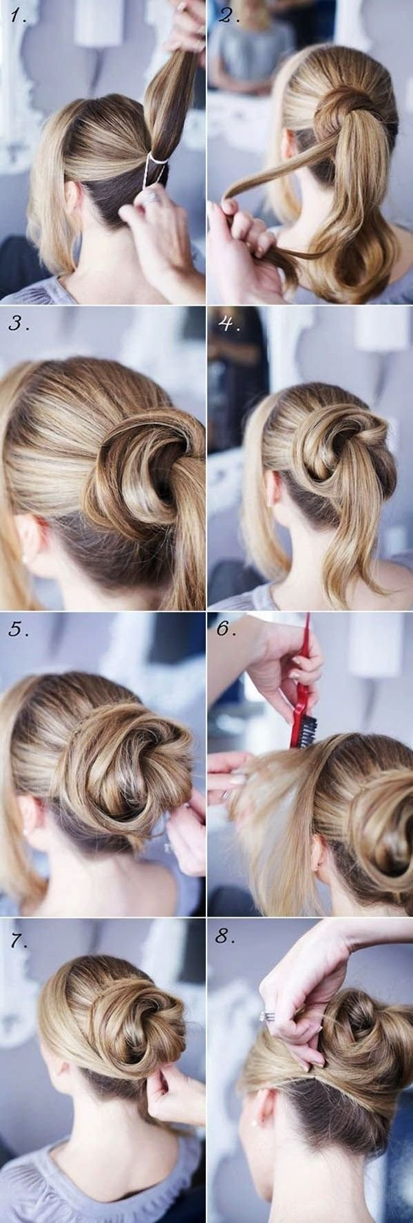The Best 15 Easy Step By Step Hairstyles For Long Hair Hair Style Pictures