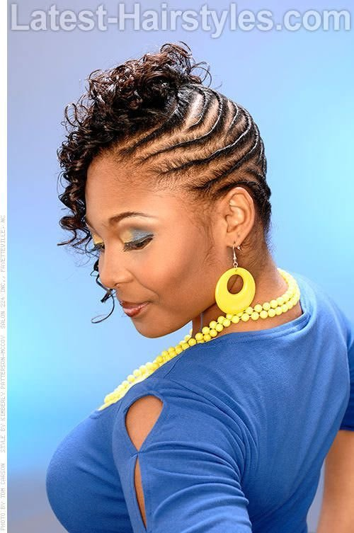 The Best African Flat Twist Hairstyles Styled Flat Twists Pictures