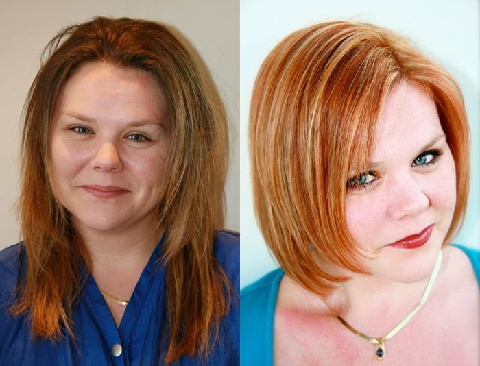 The Best Before And After Hair Styles Michael Christopher Pictures