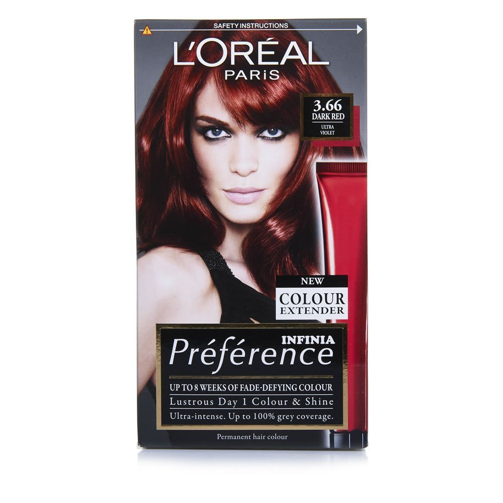 The Best L Oreal Paris Preference Infinia 3 66 Dark Red Permanent Pictures