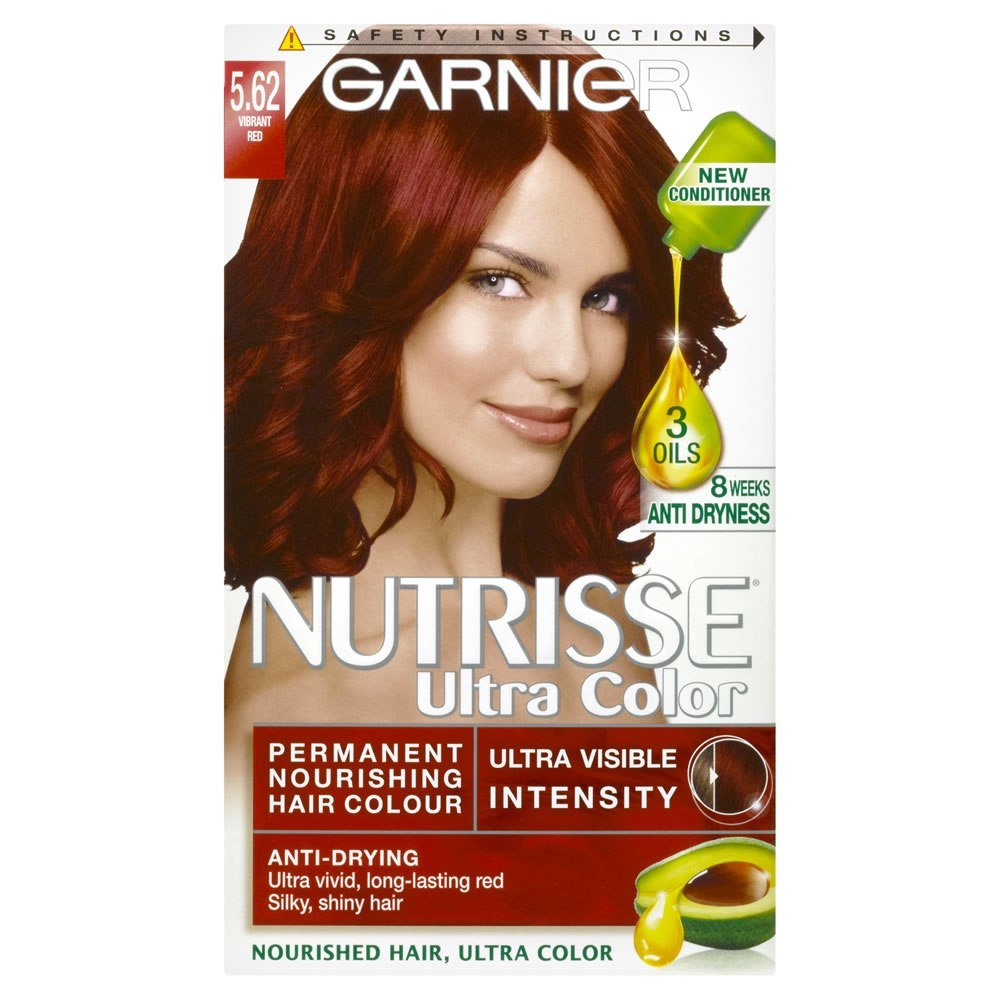 The Best Garnier Nutrisse 5 62 Ultra Vibrant Red Permanent Hair Pictures