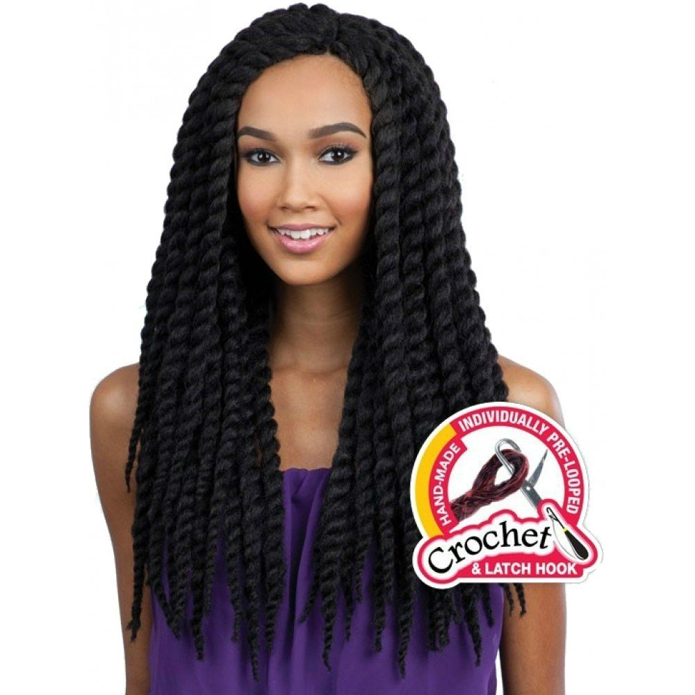 The Best Freetress Braids – Jamaican Jumbo Twist Braided Weave Pictures