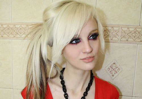 The Best 29 Stupendous Scene Hairstyles For Girls Creativefan Pictures