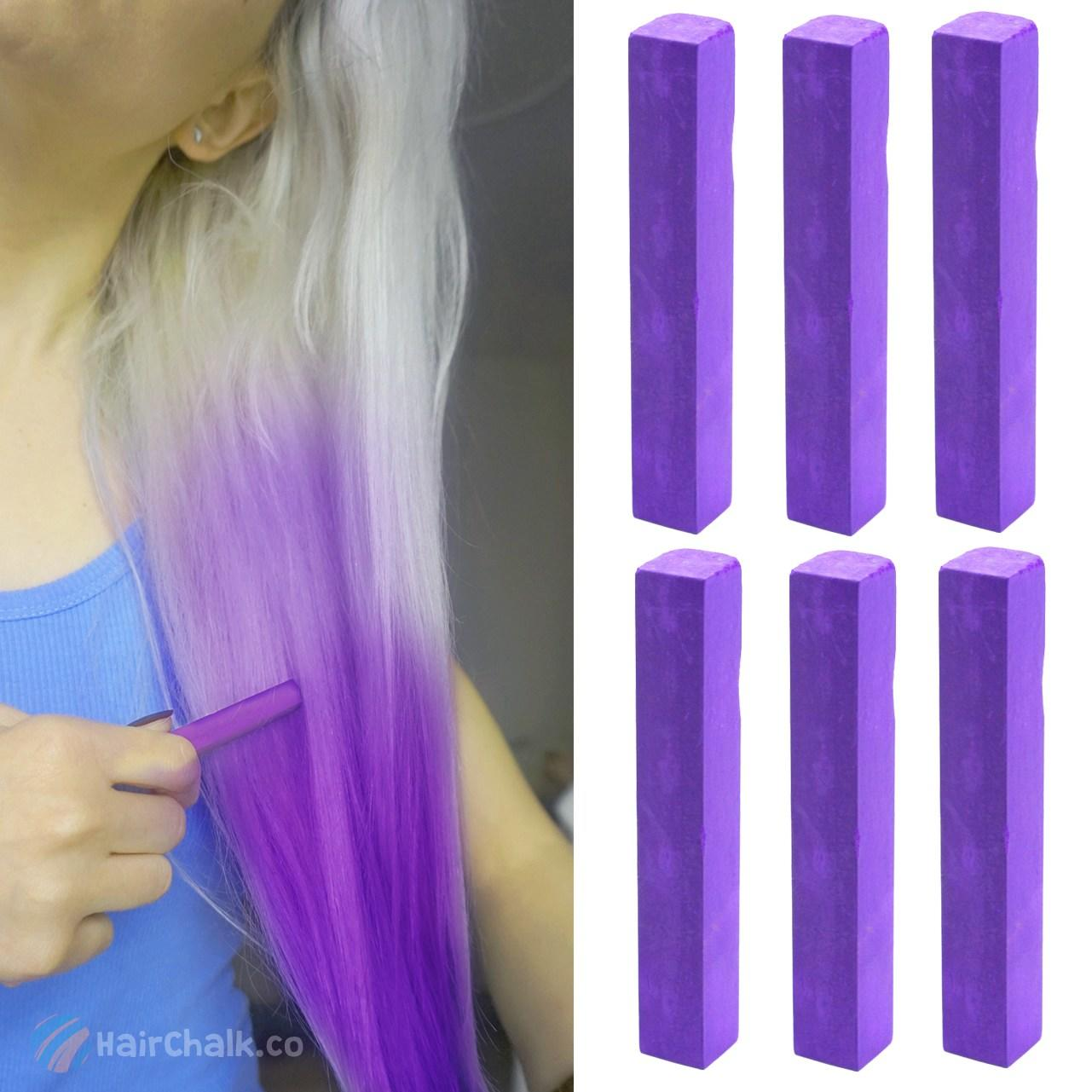The Best Best Temporary Purple Hair Dye Set Imperial Purple 6 Pictures