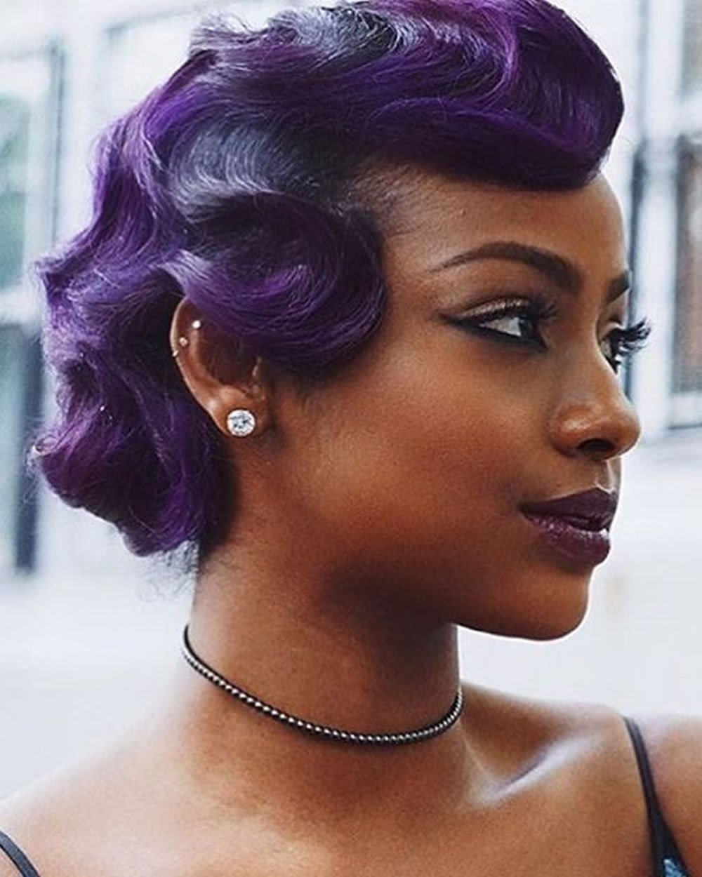 The Best Finger Wave Short Bob Haircut Hairstyle Images For 2018 Pictures
