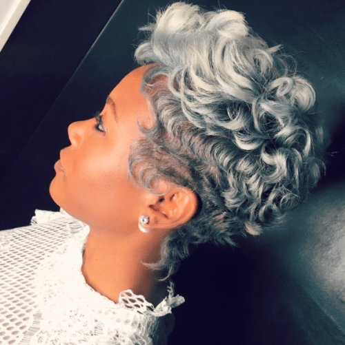 The Best 30 Short Curly Hairstyles For Black Women Herinterest Com Pictures