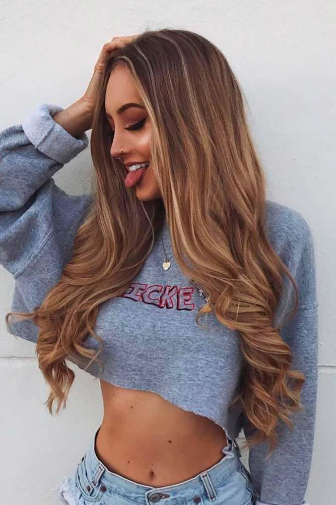 The Best 74 Brown Hair Color With Highlights And Lowlights Koees Blog Pictures