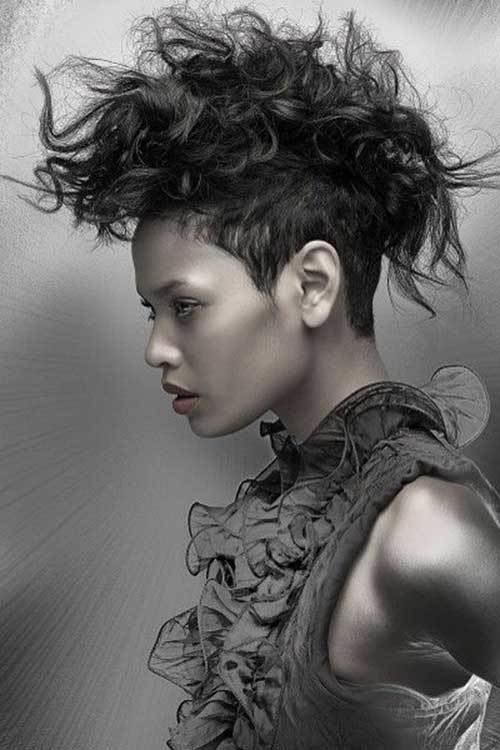 The Best 25 Punk Hairstyles For Curly Hair Hairstyles And Pictures