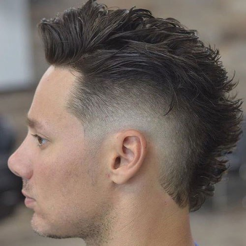 The Best 25 Faux Hawk Fohawk Haircuts 2019 Men S Haircuts Pictures