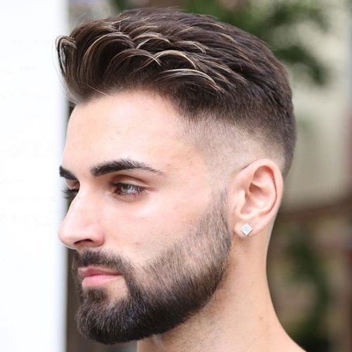 The Best 25 Best Comb Over Fade Haircuts 2019 Guide Pictures
