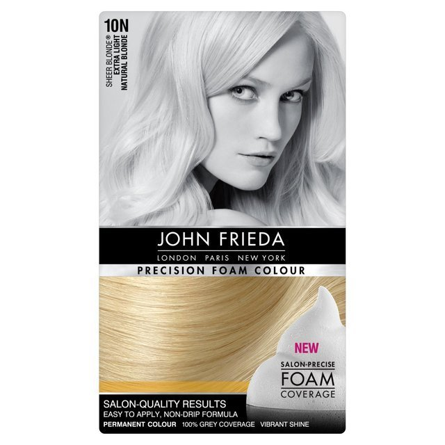 The Best John Frieda Precision Foam Colour Extra Light Natural Pictures