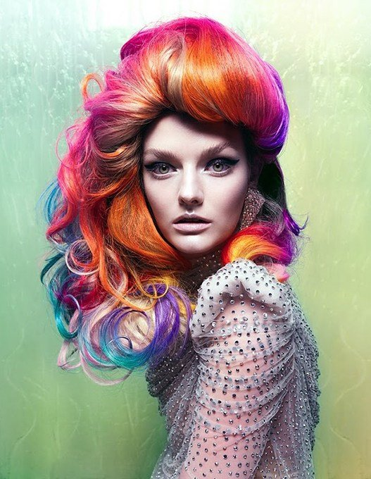 The Best 3 Bright Hair Colour Styles To Try Out In 2014 Rainbow Pictures