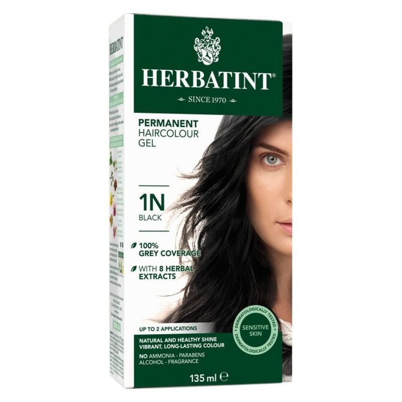 The Best Herbatint® Permanent Hair Color 1N Black – Shopalive Ca Pictures