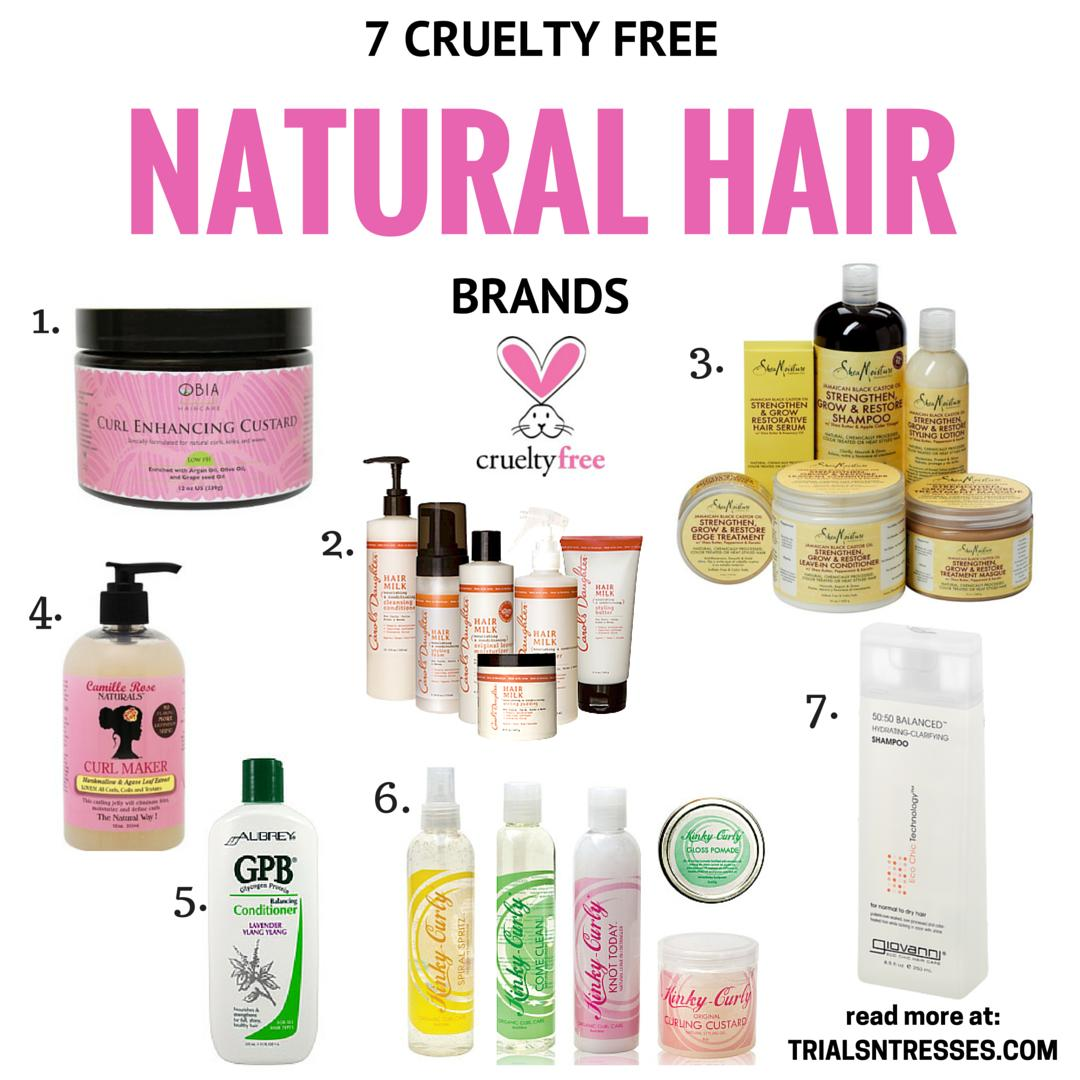 The Best 7 Cruelty Free Natural Hair Brands Trials N Tresses Pictures